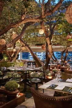 If you can score an invite to members-only club, Soho House West Hollywood, a beautiful rooftop forest and a plate of lobster spaghetti await you.