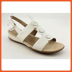 092bf4b1a34 Easy Spirit Womens Heartbeat Sling Sandals White 11 MB -- To view further  for this item