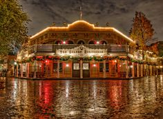It Came Upon a Midnight StormRainy weather has a way of clearing out the crowds at Disneyland, even at Christmas time. Outside of fumbling with an umbrella to keep the camera and tripod safe, it makes for one of the best times to take pictures. No one bumps your equipment or walks in your shot. Light glistens off...Read more here at Tours Departing Daily