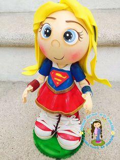 Doll Face Paint, Princess Peach, Princess Zelda, Superhero Cake, Fondant Figures, Hulk, Superman, Diy And Crafts, Dolls