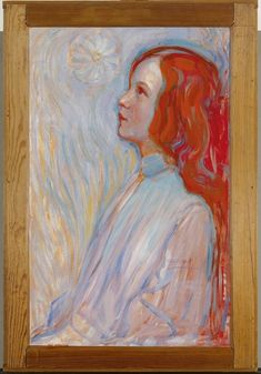 Piet Mondrian, Devotion, 1908 (Oil on Canvas; 94 x 61 cm. Piet Mondrian, Dutch Painters, Dutch Artists, Art Abstrait, Figure Painting, Les Oeuvres, New Art, Art History, Oil On Canvas