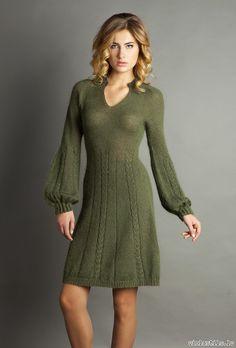 Knit Skirt, Knit Dress, Dress Skirt, Lace Dress With Sleeves, Winter Dresses, Dress Winter, Knit Fashion, Lace Knitting, Knitting Designs