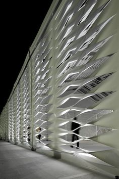 Image 8 of 10 from gallery of Design Miami / Tent / Moorhead & Moorhead. Photograph by Michael Stavaridis Ludwig Mies Van Der Rohe, Facade Architecture, Amazing Architecture, Interactive Architecture, Italy Architecture, Renzo Piano, Facade Design, Wall Design, Design Design