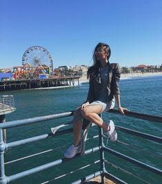 """""""Gostei dessa foto e tinha esquecido de postar! Saudade Los Angeles, saudades. #GTAfeelings #santamonica #cali"""""""