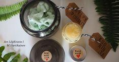 Äidille 💝 Jalkakylpy-Pommit ja Sokerikuorinta... 100% luonnonkosmetiikkaa.       Tänä vuonna teimme Äitienpäivä lahjoiksi KylpyPommeja sek... Xmas, Christmas, Hair Beauty, Homemade, Tableware, Diy, Gifts, Gift Ideas, Dinnerware