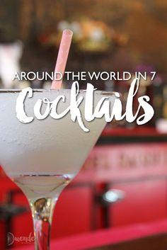 Around the World in 7 Cocktails | Duende by Madam ZoZo