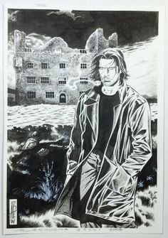 "Bocci, Alessandro - illustration ""Dampyr"" - (2004) - W.B."