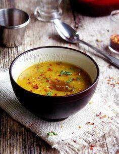 Bhaja Muger Dal / Roasted Mung-Lentil Soup