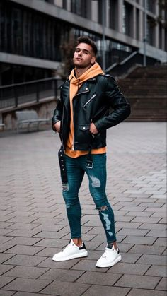 Stylish Mens Outfits, Casual Outfits, Men Casual, Urban Fashion, Look Fashion, Fashion Outfits, Men Looks, Men Style Tips, Mens Clothing Styles