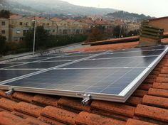 Impianto fotovoltaico ad ANCONA da 3,00 kWp su copertura - 13 moduli BRANDONI in SILICIO POLICRISTALLINO da 235 Wp