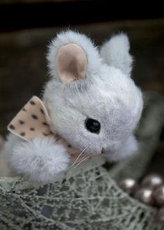 SnowBunny...I needle felted this sweet bunny