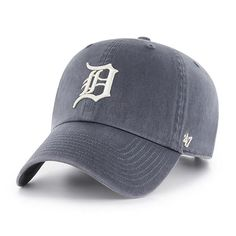pretty nice 874eb ca66b Detroit Tigers 47 Brand Vintage Navy Clean Up Adjustable Hat