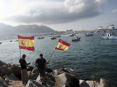 España investiga si Gibraltar ha lanzado nuevos bloques de hormigón al mar