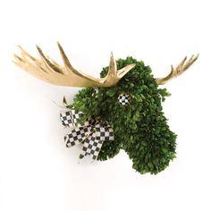 MacKenzie-Childs - Moose Topiary