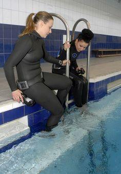 Scuba Gear, Womens Wetsuit, Smooth Skin, Snorkeling, Scuba Diving, Underwater, Bodysuit, Workout, Suits