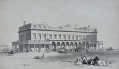 Illustration of Brighton Railway Station Brighton Sussex, Brighton England, Brighton And Hove, Seaside Shops, Royal Pavilion, Old Train Station, Ticket To Ride, Sight & Sound, Local History