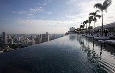 Marina Bay Sands Resort, Singapour | 24 piscines incroyables à voir avant de mourir