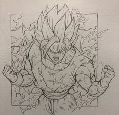 Bardock Super Saiyan, Kratos God Of War, Ball Drawing, Anime Sketch, Dragon Ball Z, Art Sketches, Comic Art, Character Design, Geek Stuff