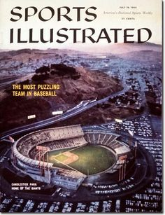 Candlestick when it was still home to the San Francisco Giants
