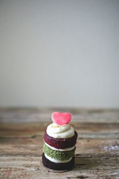 chocolate, green tea, and red velvet mini cake | my name is yeh