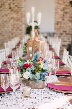 Joyous Jewel Tone Winter Wedding by Dust and Dreams Photography Dream Photography, Welcome Decor, Bride Look, Jewel Tones, Celebrity Weddings, Elegant Wedding, Party Time, Table Settings, Jewels