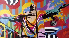 THE HUG | LOBO | POP ART | Lobo | Pop Art