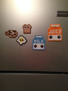 Image result for cute perler beads food