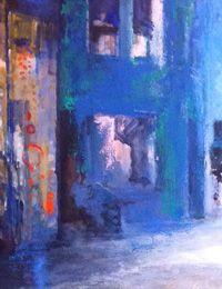 Page d'accueil du site d'Isabelle Passama, artiste peintre, bienvenue sur le site. Peintures, dessins, gravures, décors.