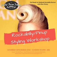 Revive your Rockabilly/Pin Up Looks with a Vintage Styling Workshop with Miss Chrissy - $80