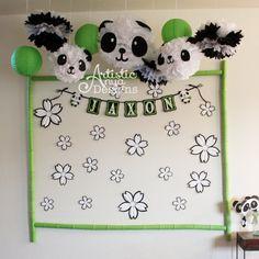 Panda enfrenta a Kit  conjunto de 3 Panda caras  negro y