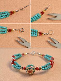 How to: bead bracelet