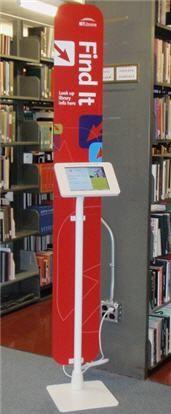 Find It information kiosk