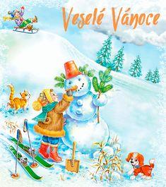 "Photo from album ""Снеговики"" on Yandex. Princess Peach, Disney Princess, Disney Characters, Christmas, Painting, Gifs, Art, Advent, Winter"