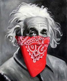 Einstein (2015) Mr Brainwash, Star Wars Girls, Pin Up Art, Character Illustration, Little People, Urban Art, Neko, Cyber, Einstein