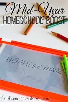 Is your homeschool in need of a mid-year encouragement or organizational boost?