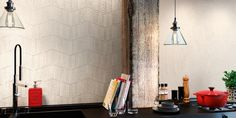 Coda Deco Ivory design by Realonda. Shapes with Dynamic Character. Porcelain Tile 31 x 56 cm. Tiles, Ivory Decor, Floor And Wall Tile, Wall And Floor Tiles, Deco, Porcelain Tile, Shower Bath, Wall, Contemporary Design