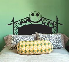 nightmare before christmas decals for walls - Google Search
