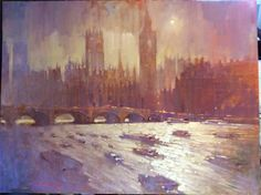 From the collection of paintings London 2014 - By David Hinchliffe Artist.