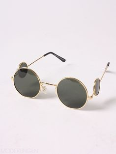 967a20ec6562 These Lennon Sunglasses by Modekungen are a Blast From Pop Culture Past