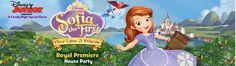 Anfitriona una fiesta de la princesa Sofía The First de Disney junior con House Party