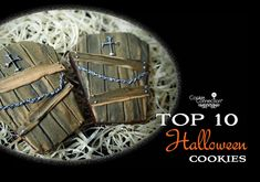 #COOKIE CONNECTION ALERT: Top 10 Halloween Cookies in our Saturday Spotlight! Cookies and photo by D&S!