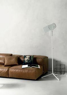 Ultra thin concrete resin flooring CEMENTORESINA (CR) - Kerakoll Design House