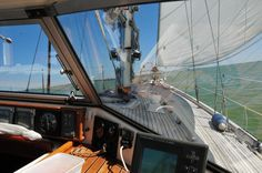hallberg rassy hr 38 enderlein sailing with permanent windscreens segeln pinterest segeln. Black Bedroom Furniture Sets. Home Design Ideas