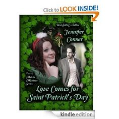 My new story, Love Comes for Saint Patrick's Day is up free on Amazon today and tomorrow! This is the 2nd in the Mobile Mistletoe Series. Enjoy!