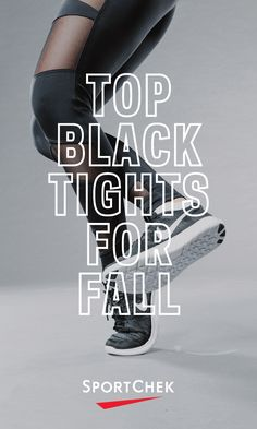 5bf9d9de1ead4 Go way beyond basic in the top black tights for fall from Sport Chek.