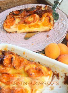 Gratin express aux abricots