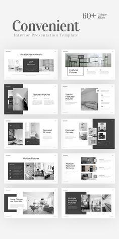 Page Layout Design, Ppt Design, Brochure Design, Portfolio Design Layouts, Template Portfolio, Presentation Board Design, Interior Design Presentation, Presentation Templates, Power Point Presentation