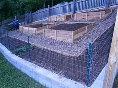 Backyard landscaping hillside garden beds 18 new ideas