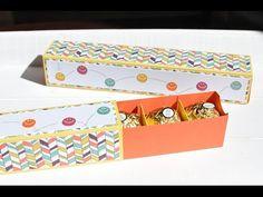 Extra lange Matchbox mit Produkten von Stampin' Up! - YouTube