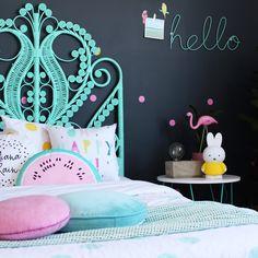 Children's bedrooms ideas by four cheeky monkeys | more girls room Inspo on the blog | barnrum | kinderkamer
